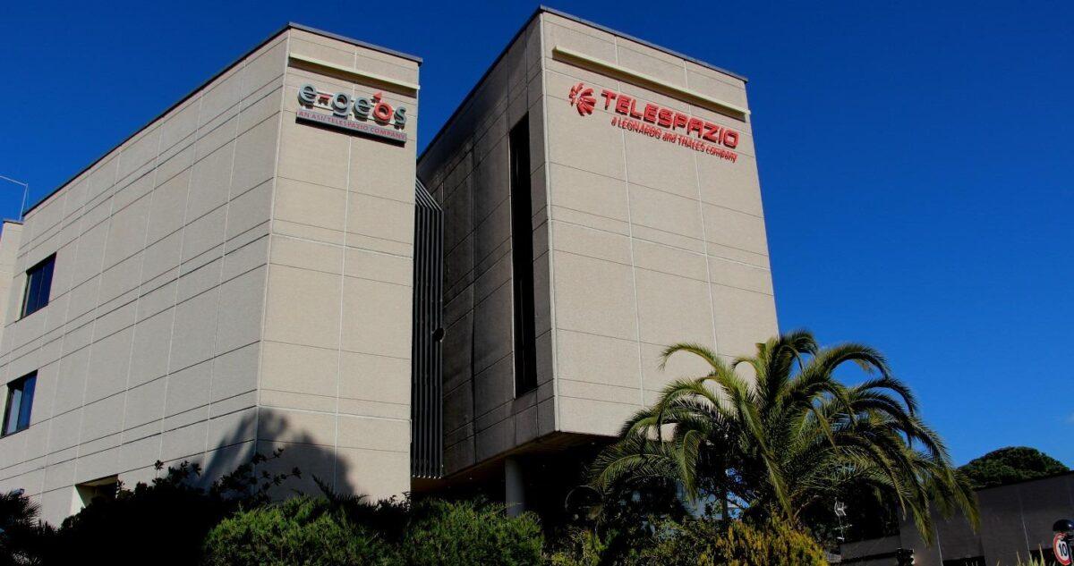 Telespazio Leonardo building