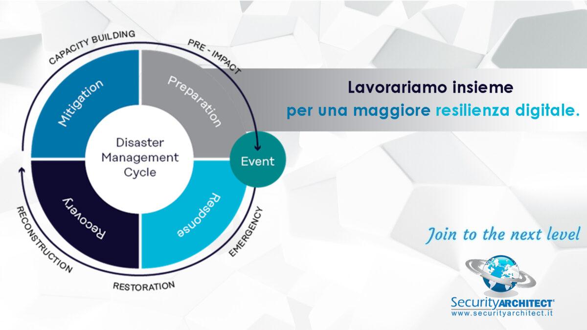 Resilienza digitale-disaster management