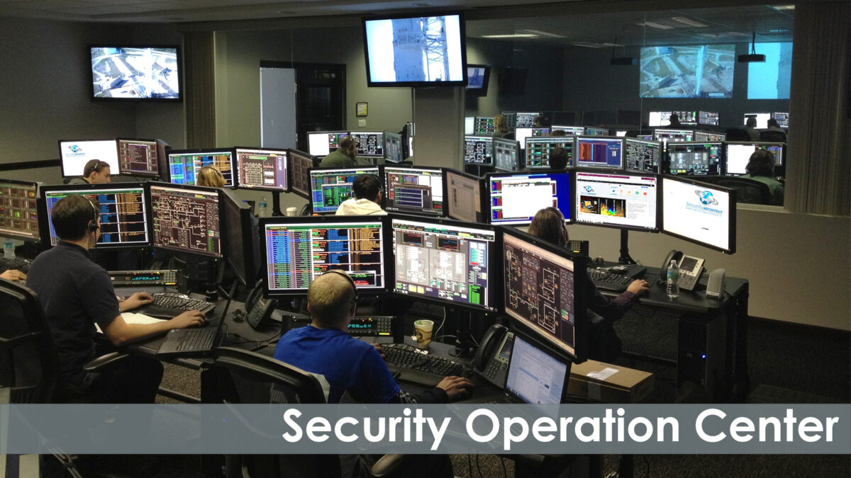 SECURITY (Architect) OPERATION CENTER