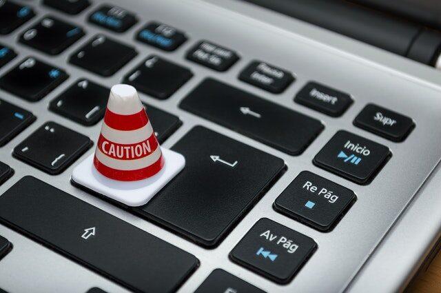 Caution data loss